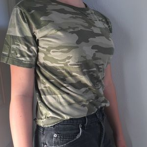 Cute and comfy camo shirt
